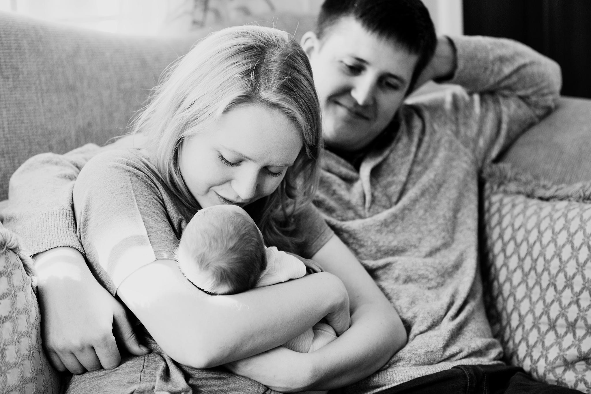 Malcolm Buster Newborn Session © Nikki McKenzie Photography